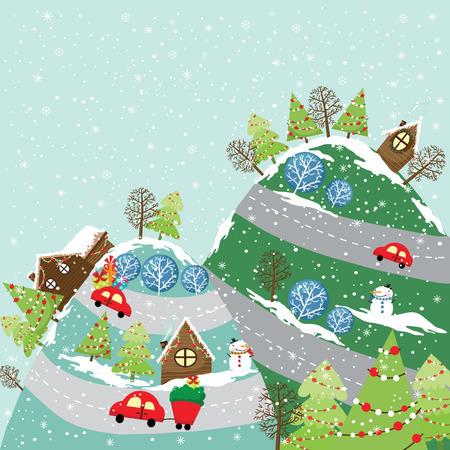 retro christmas: Retro Christmas