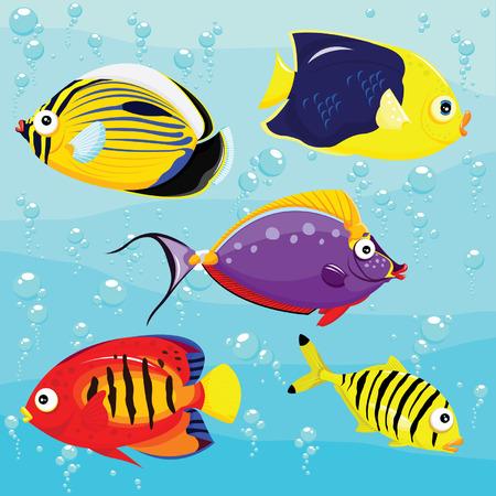themes: Sea Fishes Set