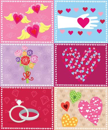 Retro Valentine Elements
