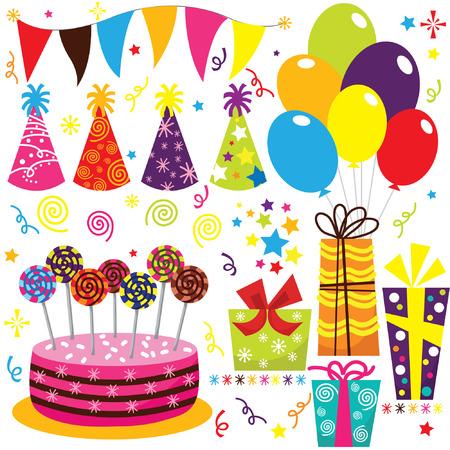 tortas de cumpleaños: Cumpleaños Set Celebración