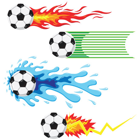 ball on water: Soccer Ball Elements