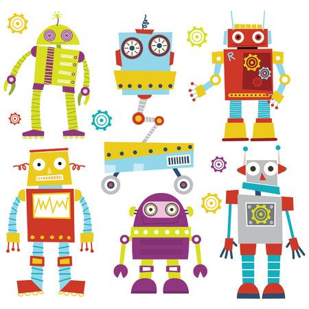Robots mignons Banque d'images - 41722175