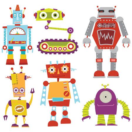 로봇 설정