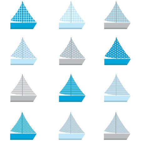 sail boat: Sail Boat design patterns