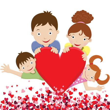 Happy Lovely Family