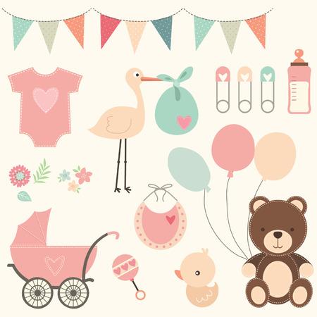 아기: 베이비 샤워 세트