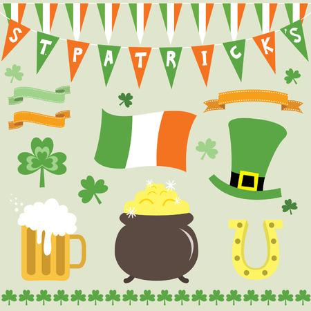 four leafed clover: St Patricks Day