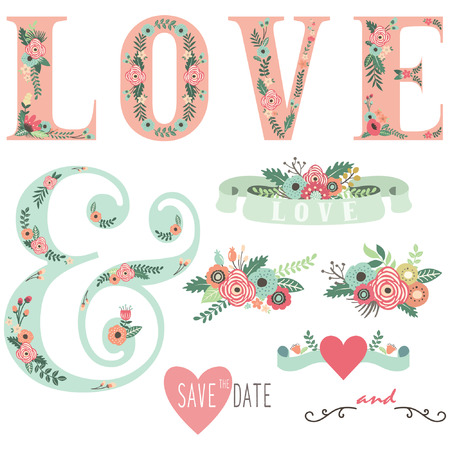 c�r�monie mariage: R�glez d'invitation de mariage Design Elements Illustration