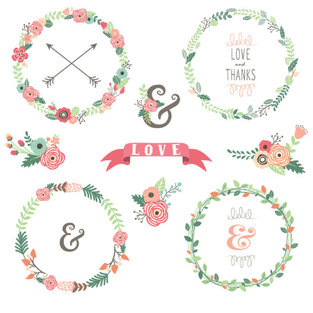 Flowers Wreath Collections
