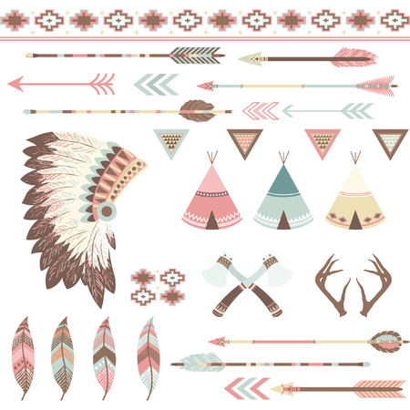 american indian aztec: Tribal Collection
