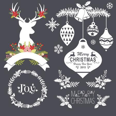 Chalkboard Christmas Set