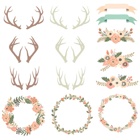 Flower Antlers Collection