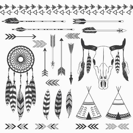 インド部族のコレクション