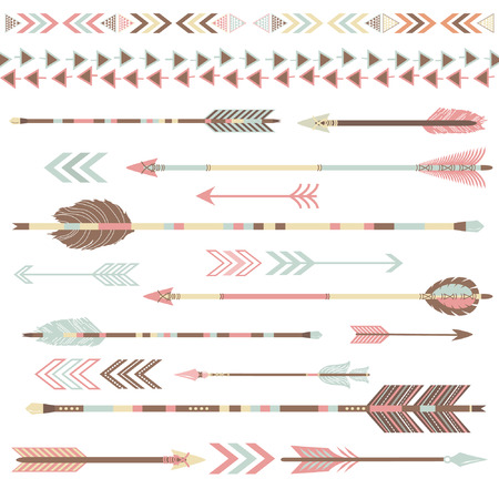 Tribal Arrow Collections Illustration