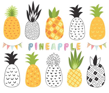 Tropical Pineapple Set