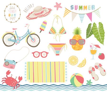 Summer Tropical Elements
