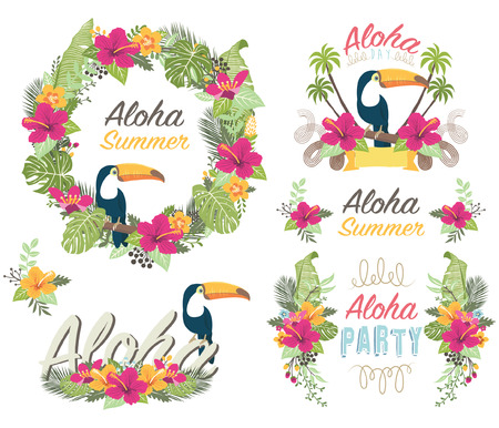 Tropicana Aloha Floral Collections