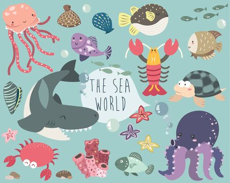 The SeaWorld Creatures Collection Set