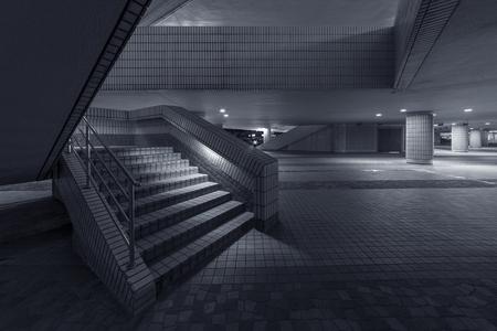 comtemporary: modern stairway