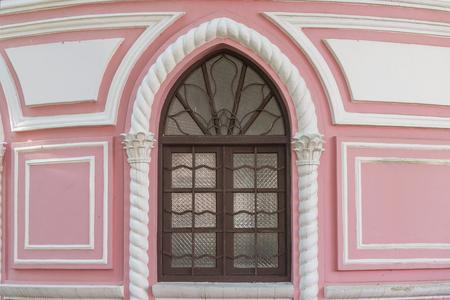 portuguese colonial architecture in Macau, China. Stock Photo