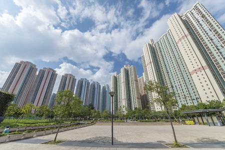 openbaar domein in Hong Kong Stockfoto