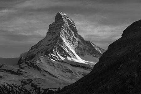 マッターホルン山 写真素材