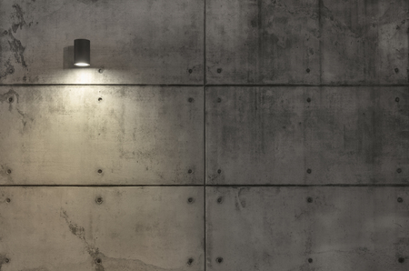 grungy: Grungy concrete wall and light Stock Photo