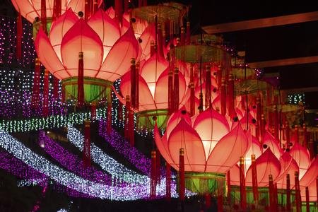 Chinese Lantern for Chinese New Year Celebration Stockfoto