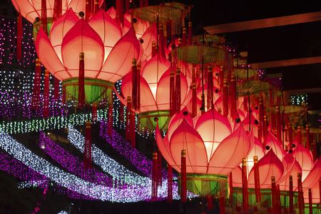 Chinese Lantern for Chinese New Year Celebration Foto de archivo