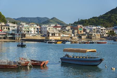 Lamma Fisherfolk's Village in Sok Kwu Wan on Lamma Island in Hong Kong