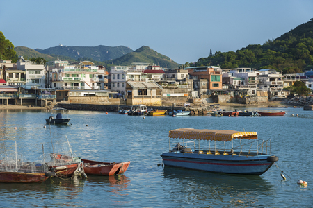 Lamma Fisherfolk's Village in Sok Kwu Wan on Lamma Island in Hong Kong