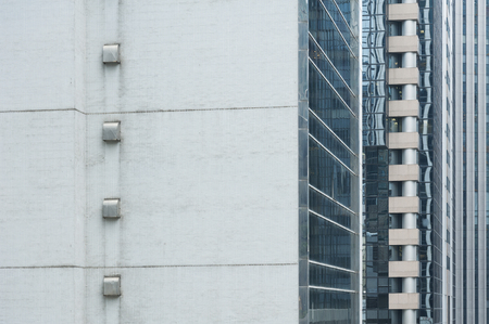 Exterior of high rise building. Architecture abstract background 写真素材