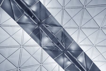 Modern building abstract background pattern