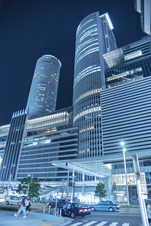 High rise office building in Nagoya City, Japan