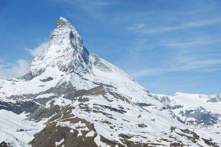 Idyllic landscape of Mountain Matterhorn, Zermatt, Switzerland