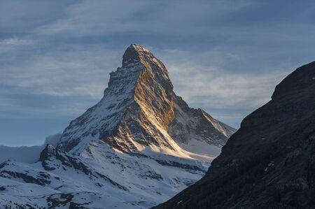 Idyllic view of mountain Matterhorn, Zermatt, Switzerland