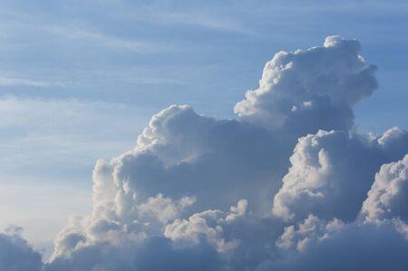 dramatic cumulonimbus cloud. Natural abstract background Stok Fotoğraf