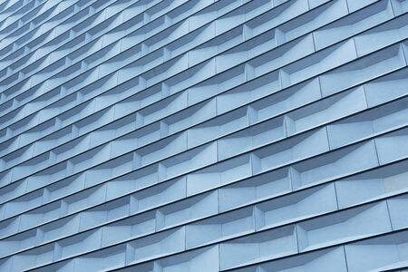 Exterior of modern architecture. Building abstract background pattern 写真素材