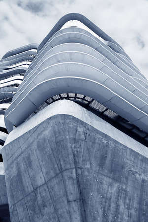 Exterior of modern architecture. Building abstract background 写真素材 - 150862181
