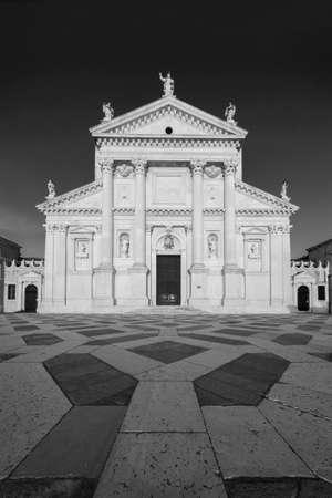 Historical landmark San Giorgio Maggiore Church in Venice, Italy, Europe Stock fotó