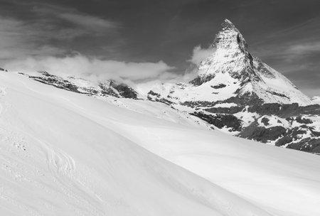 Idyllic landscape of Mountain Matterhorn, Zermatt, Switzerland Фото со стока