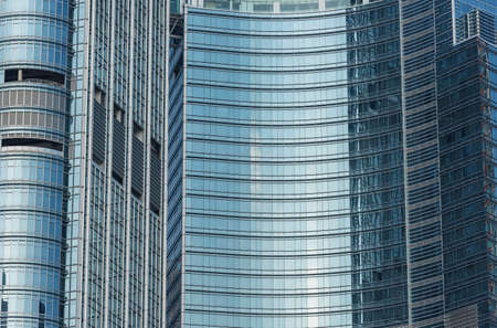 Exterior of modern building. Architecture abstract background 스톡 콘텐츠