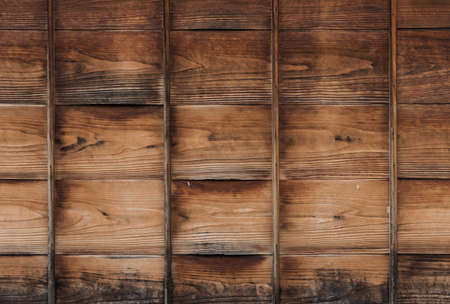 old, grunge wood panel used as background