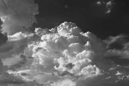 dramatic cumulonimbus cloud. Natural abstract background 版權商用圖片