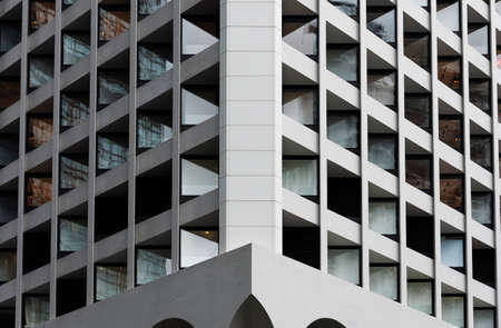 Exterior of modern building. Architecture abstract background 版權商用圖片