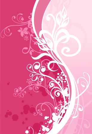 pinky: flora in pink