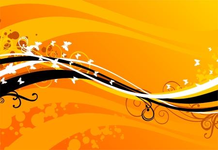 yellow sky Stock Vector - 3282344