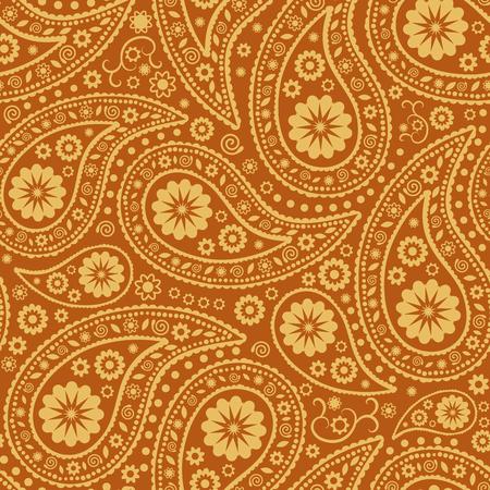 background designs: Seamless Paisley background. Elegant Hand Drawn  pattern. Illustration