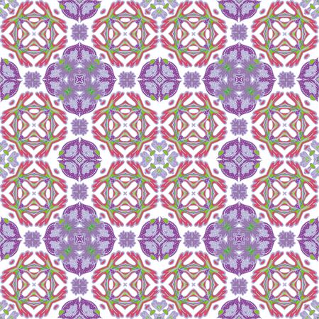 vintage background pattern: Background vintage tile. Seamless pattern. Abstract wallpaper. Texture royal vector. Fabric illustration. Illustration