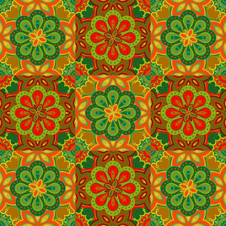 gold textures: Gorgeous seamless  pattern from green and gold yellow Moroccan, Portuguese  tiles, Azulejo, ornaments. Can be used for wallpaper, pattern fills, web page background,surface textures.